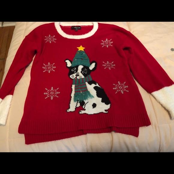 Dog Christmas Sweater.Dog Christmas Sweater